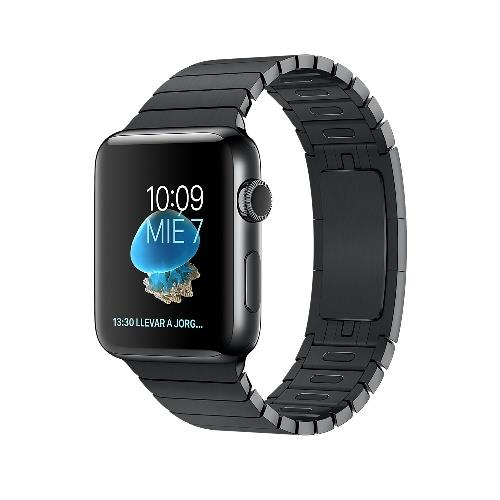 Apple Watch S2 42mm Negro espacial y pulsera de eslabones negro espacial