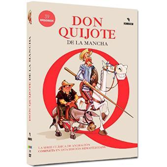 Don Quijote de la Mancha (Ed. Remasterizada) - La serie completa - DVD
