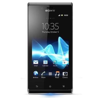 Sony Xperia J Negro