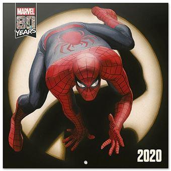 Calendario de pared 2020 Erik 30x30 multilingüe Marvel Comics 80 Years