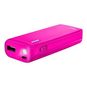 Powerbank Trust Urban Primo USB 4400 mAh Rosa