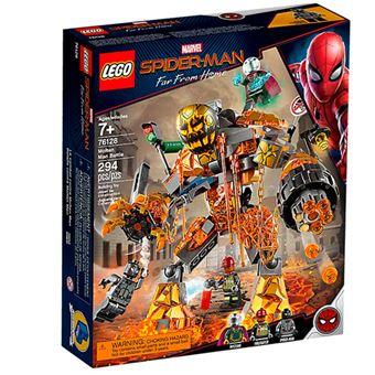 LEGO Marvel Super Heroes 76128 Batalla contra Molten Man