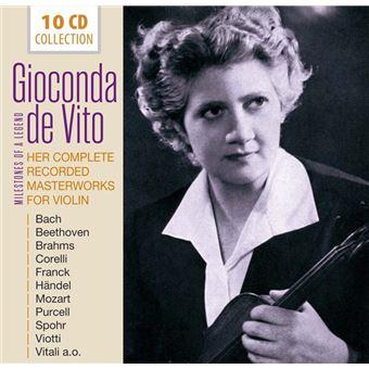 Milestones of Legends: Gioconda de Vito. Her Complete Recorded Masterworks for Violin