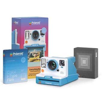 Cámara instantánea Polaroid OneStep 2VF Summer Blue + Película Kit
