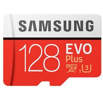 Tarjeta MicroSD Samsung EVO 128GB C10 + Adaptador