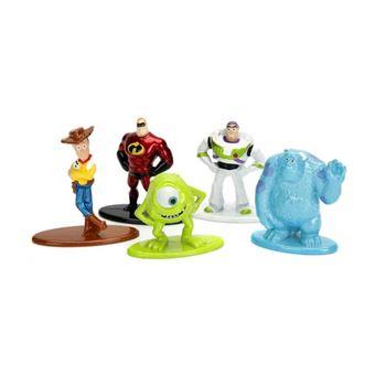 Set 5 nanofiguras de metal Disney Pixar