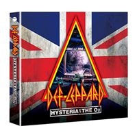 Hysteria at The O2 - CDs + DVDs
