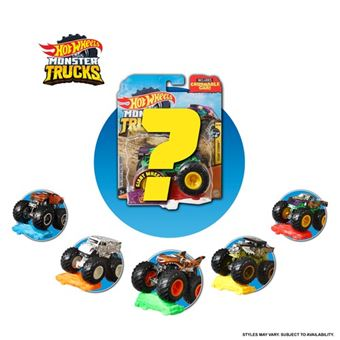 Todoteerrenos Mattel Hoot Wheels - Monster Truck - Varios modelos