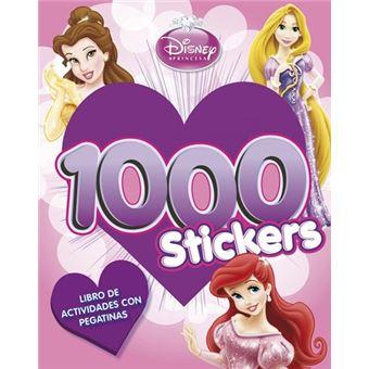 Princesas. Libro de actividades con 1.000 pegatinas