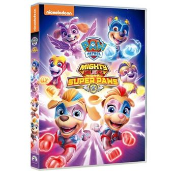 paw patrol 24: mighty pups super paws - dvd - keith chapman | fnac