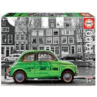Puzzle Educa - Coche en Amsterdam 1000 piezas