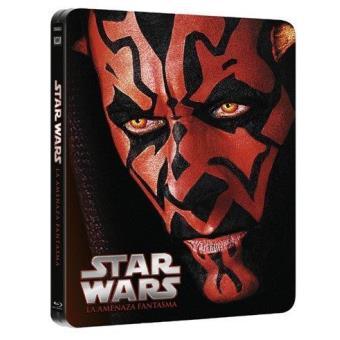 Star Wars I: La Amenaza Fantasma - Steelbook Blu-Ray