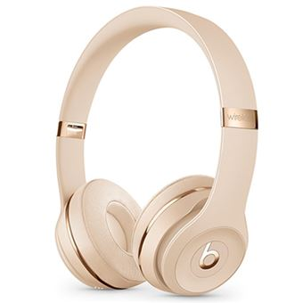 Auriculares Bluetooth Beats Solo3 Oro Mate