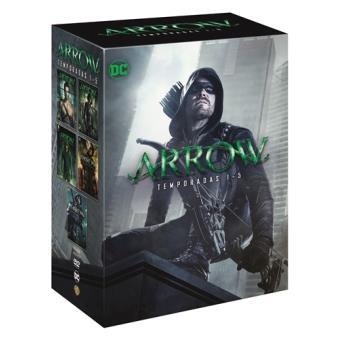 Arrow  Temporadas 1-5 - DVD