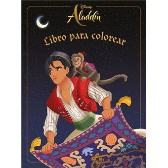 Aladdín. Libro para colorear