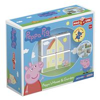 Magicube Peppa Pig house and garden