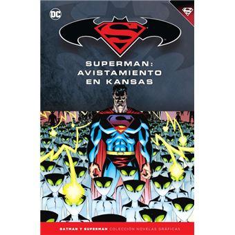 Batman y Superman - Colección Novelas Gráficas núm. 57: Superman: Avistamiento en Kansas