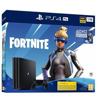 Consola PS4 Pro 1TB + Fortnite Voucher 2019