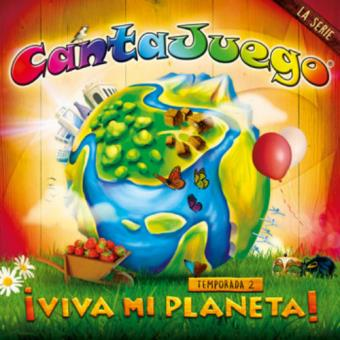Cantajuego: ¡Viva mi planeta! - Temporada 2 - DVD