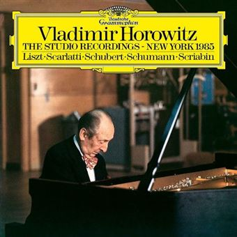 Vladimir Horowitz The Studio Recordings-New York 1985 - Vinilo