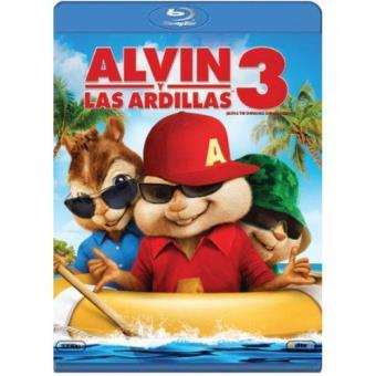 Alvin y las ardillas 3 - Blu-Ray