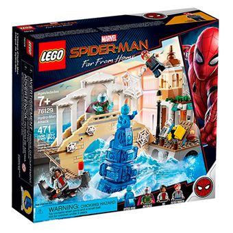 LEGO Marvel Super Heroes 76129 Spiderman Lejos de casa - Ataque de Hydro