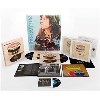 Box Set Let It Bleed - Ed 50 Aniversario - 3 vinilos + 2 CD