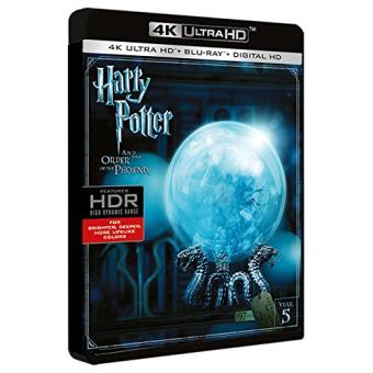 Harry Potter y la Orden del Fénix - UHD + Blu-Ray