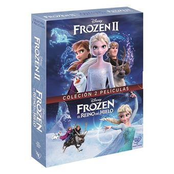 Pack Frozen 1-2 - DVD