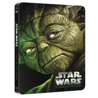 Star Wars II: El Ataque de los Clones - Steelbook Blu-Ray