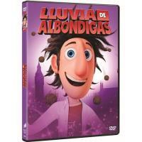 Lluvia de albondigas (Ed. Big Face) - DVD