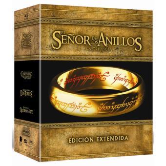Pack El Señor de los Anillos: Trilogía - Edición extendida - Blu-Ray