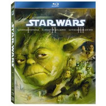 Pack Star Wars. Las precuelas: Episodios: I, II y III. - Blu-Ray