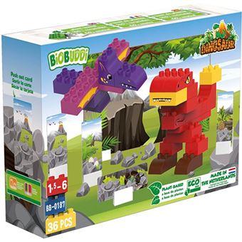 Bloques BioBuddi T-Rex 36 piezas