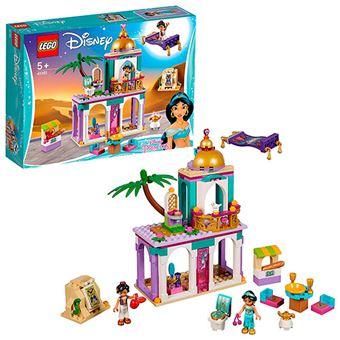 LEGO Disney Princess Aladdín 41161 Aventuras en Palacio de Aladdín y Jasmine