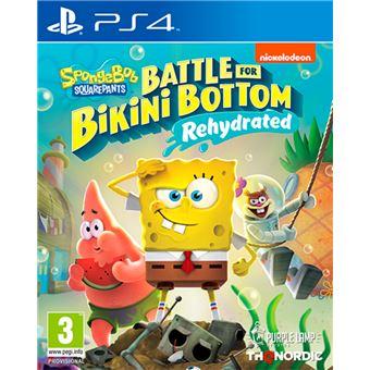 Spongebob SquarePants : Battle for Bikini Bottom - Rehydrated PS4