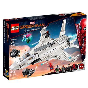 LEGO Marvel Super Heroes 76130 Spiderman Lejos de casa - Jet Stark y el Ataque del Dron
