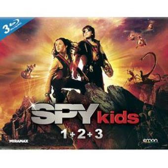 Pack Spy Kids: Trilogía - Blu-Ray