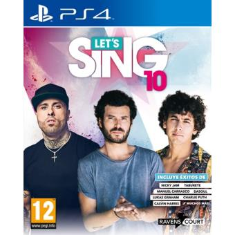 Let´s Sing 10 PS4