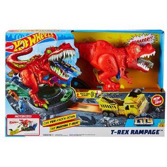 Circuito Mattel Hoot Wheels - T-Rex Rampage