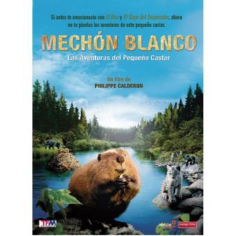 Mechón Blanco: Las aventuras del pequeño castor - DVD