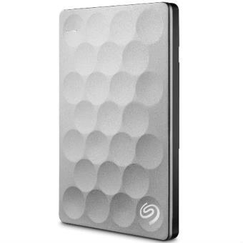 Disco duro portátil Seagate BP Ultra Slim 2TB Platino