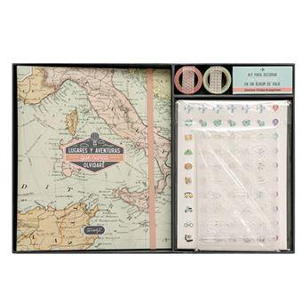 Mr Wonderful Kit scrapbooking para álbum de viaje – Lugares y aventuras que nunca olvidaré