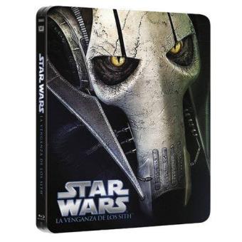 Star Wars III: La Venganza de los Sith - Steelbook Blu-Ray