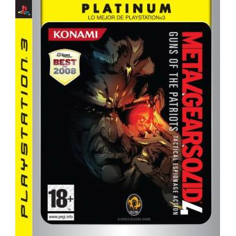 Metal Gear Solid 4 Platinun PS3