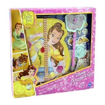 Diario Cife Princesas Disney Bella con accesorios