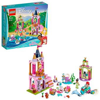 LEGO Disney Princess Celebración real de Ariel, Aurora y Tiana
