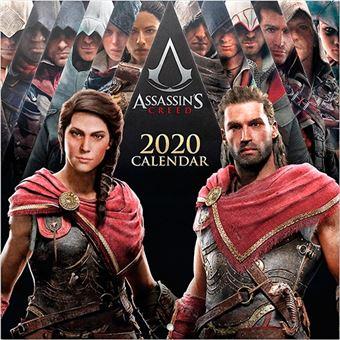 Calendario de pared 2020 Erik 30x30 multilingüe Assassin's Creed