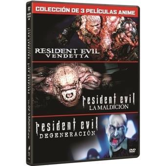 Pack Resident Evil (Vendetta - La maldición - Degeneración) - DVD