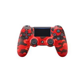 Mando Sony Dualshock 4 Rojo camuflaje para PS4